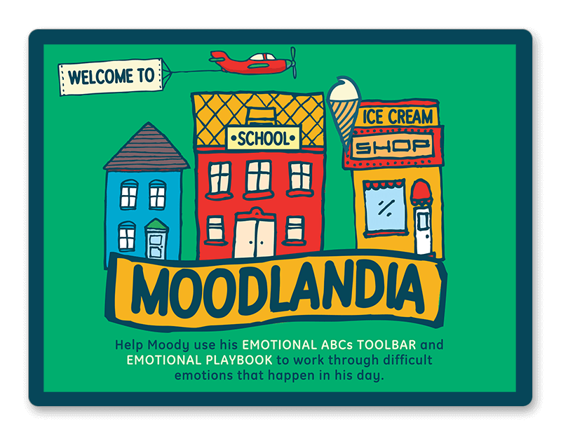 Moodlandia: working through example emotional situations
